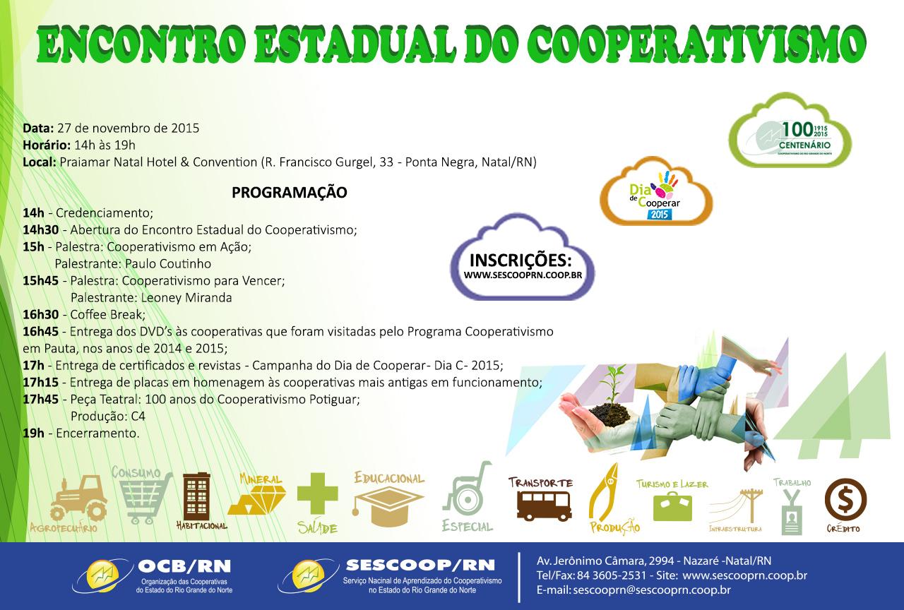 ENCONTRO ESTADUAL DO COOPERATIVISMO